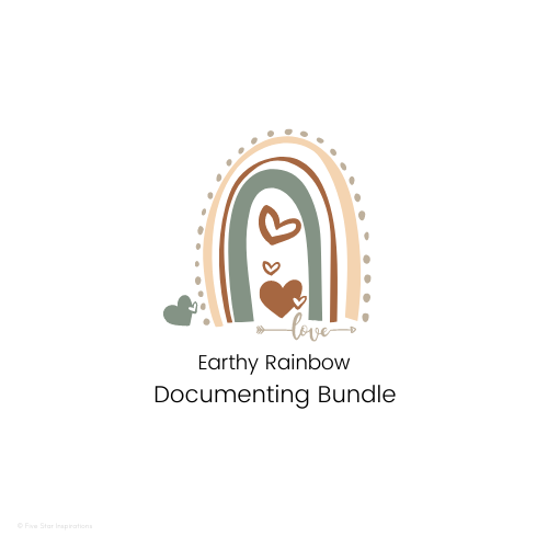 DOCUMENTING - Documenting Template Bundle - Earthy Rainbow