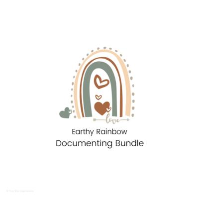 DOCUMENTING - Documenting Template Bundle - Earthy Rainbow