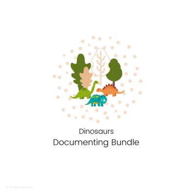 DOCUMENTING - Documenting Bundle Templates - Dinosaurs