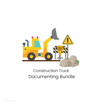 DOCUMENTING – Documenting Template Bundle - Construction Truck