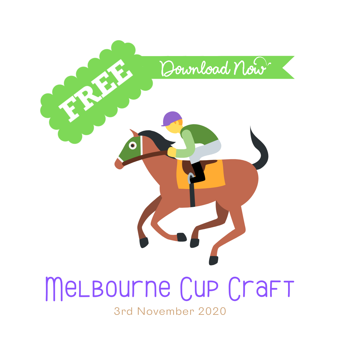 Free Melbourne Cup Craft