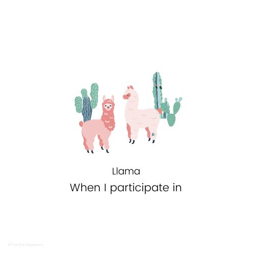 Documenting - Portfolios Made Easy - When I participate in - Llama