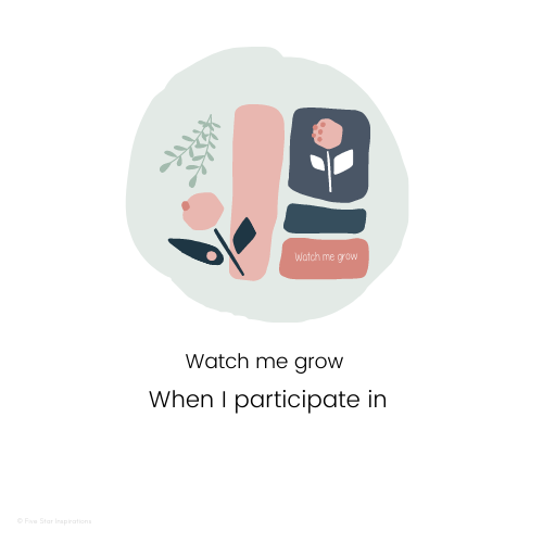 Documenting - Portfolios Made Easy - When I participate in - Watch me grow
