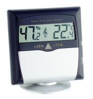 Musiker-Hygro-/Thermometer mit Alarmfunktion