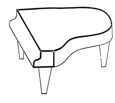 Klavierdecke, Flügeldecken, Cembalodecken