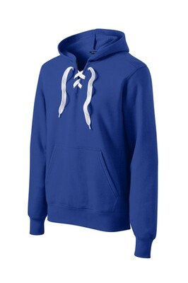 Hockey Laced Hoodie - Embroider