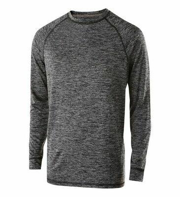 Long Sleeve Performance T-shirt Screen Print