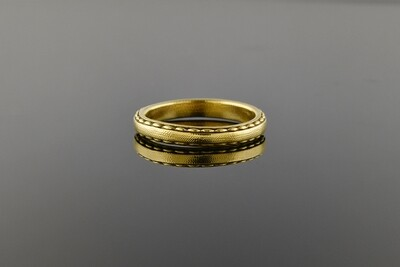 Yellow Gold Vintage Band