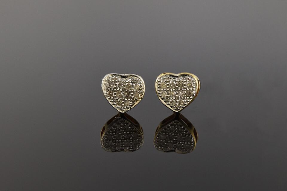Petite Heart Shaped Earrings