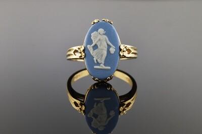 Modern Wedgwood Ring
