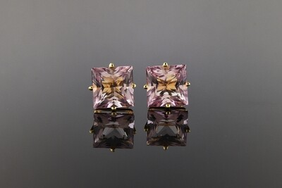 Kunzite Stud Earrings