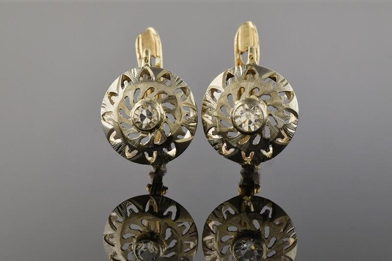 Authentic Edwardian Earrings