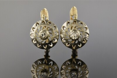 Authentic Edwardian Earrings