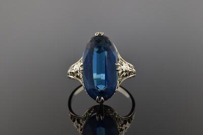 Floral Filigree Ring