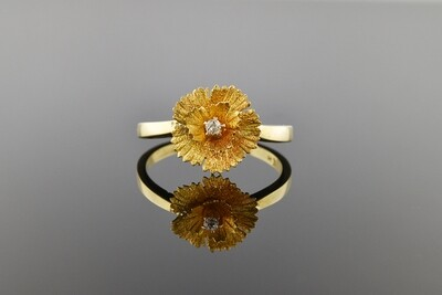 Flower Stick Pin Conversion Ring