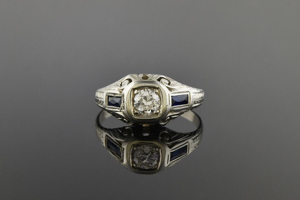 Art Deco Unisex Ring