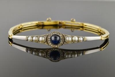 Edwardian Sapphire Bracelet