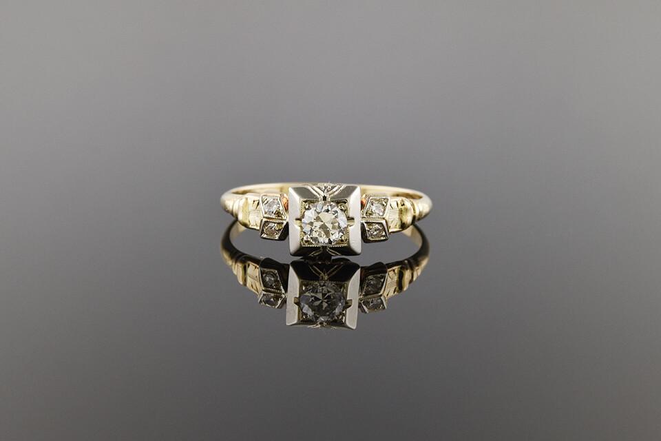 Sweet Diamond Ring