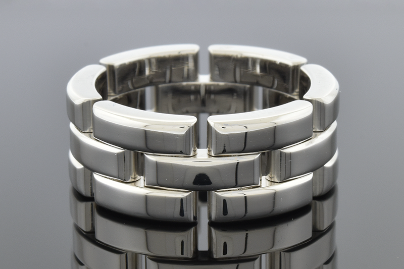 "Cartier ""Maillon Panthere"" Three Row Band"