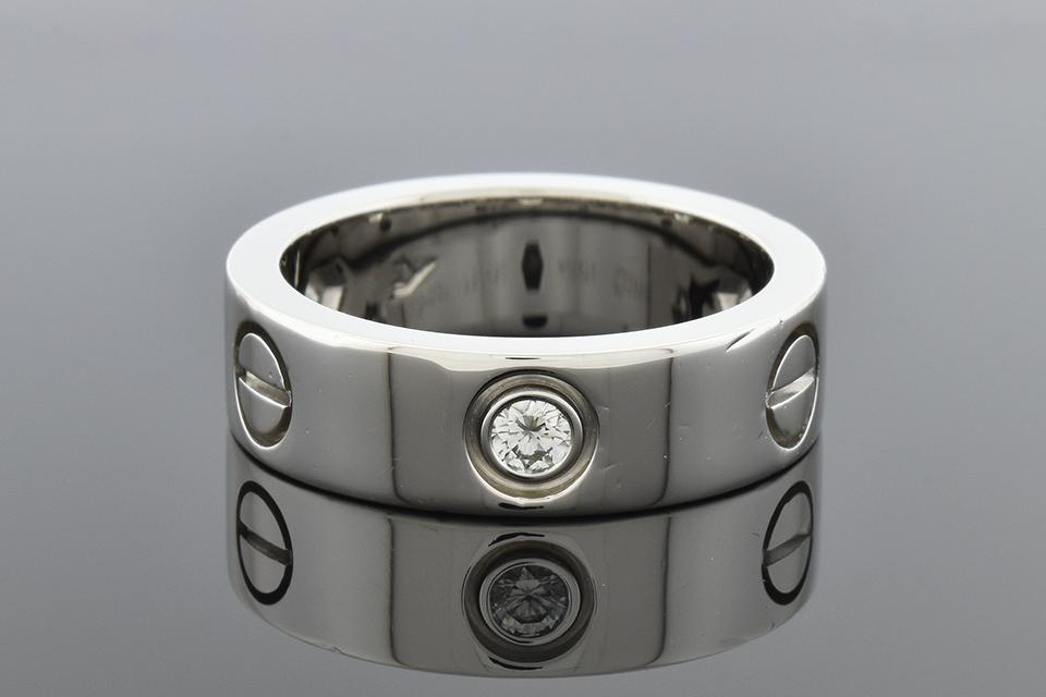 "Cartier Diamond Set ""Love"" Ring"