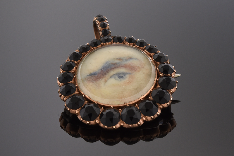 Lover's Eye Pendant and Brooch