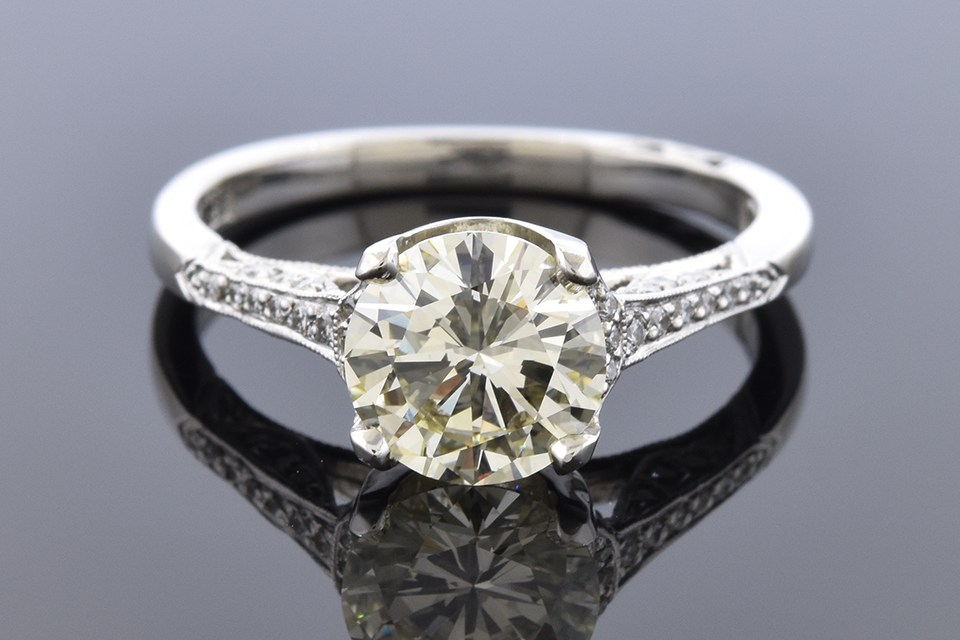 Tacori Engagement Ring with a 1.50 Carat Diamond