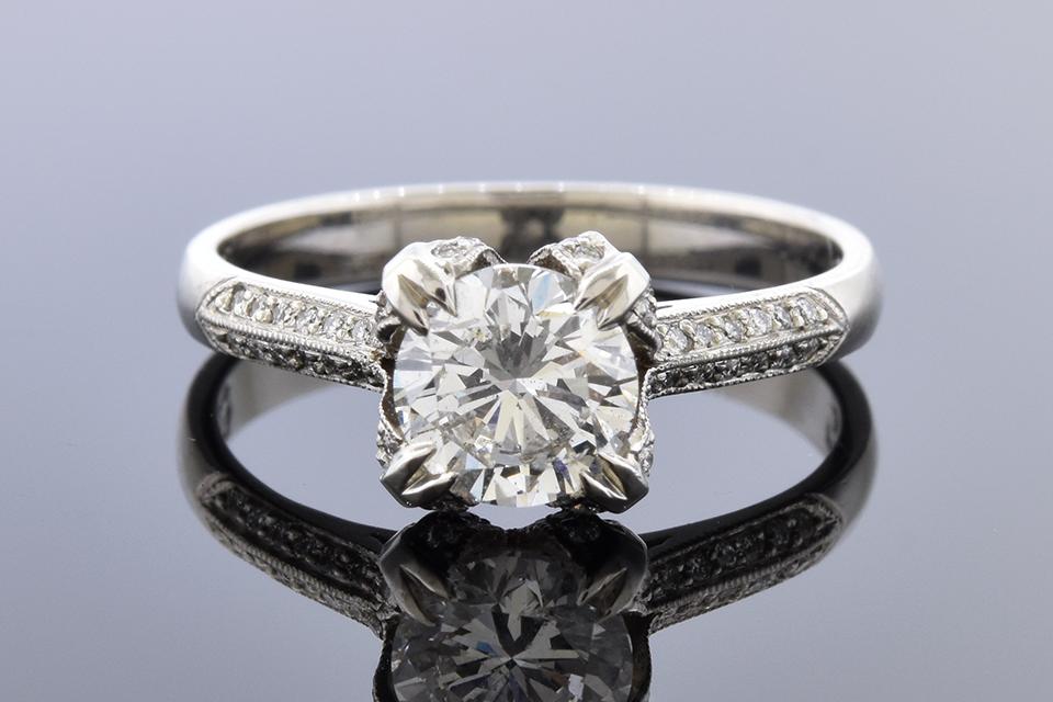 Tacori Engagement Ring with a 1.00 Carat Diamond