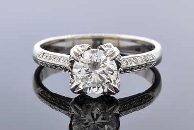 Tacori Engagement Ring with a 1.00 Carat Diamond