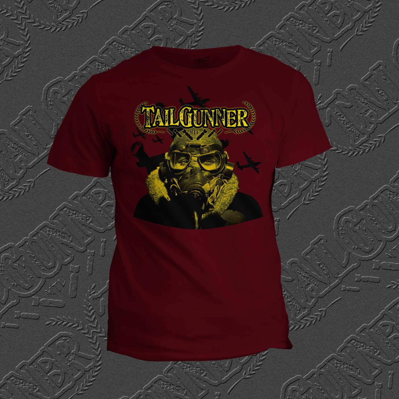 Aviator Burgundy T-Shirt