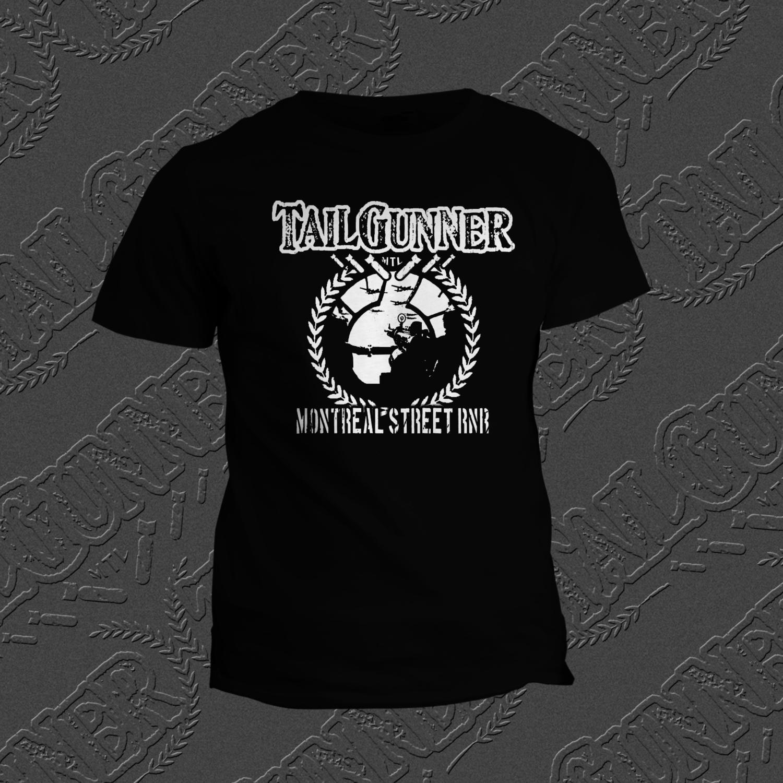 Montreal Street RNR Black T-Shirt