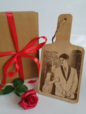 Engraved Chopping Board Personalize | Wedding | Anniversary Gift