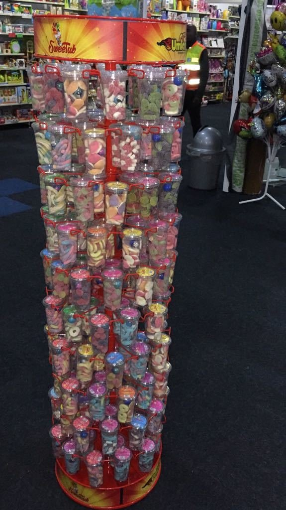 Sweetub stand (takes 180 tubs)