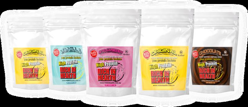 5Kg Bulk Pea Protein Isolate Powder Mixed Flavours