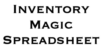 Inventory Magic Spreadsheet