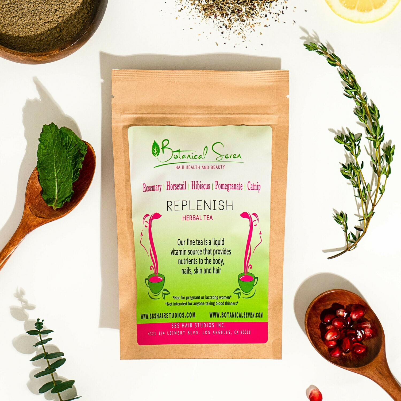 Replenish Herbal Hair Tea (21 Tea Bags)