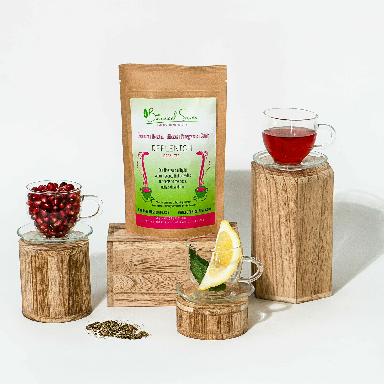 Double Up on Replenish herbal tea