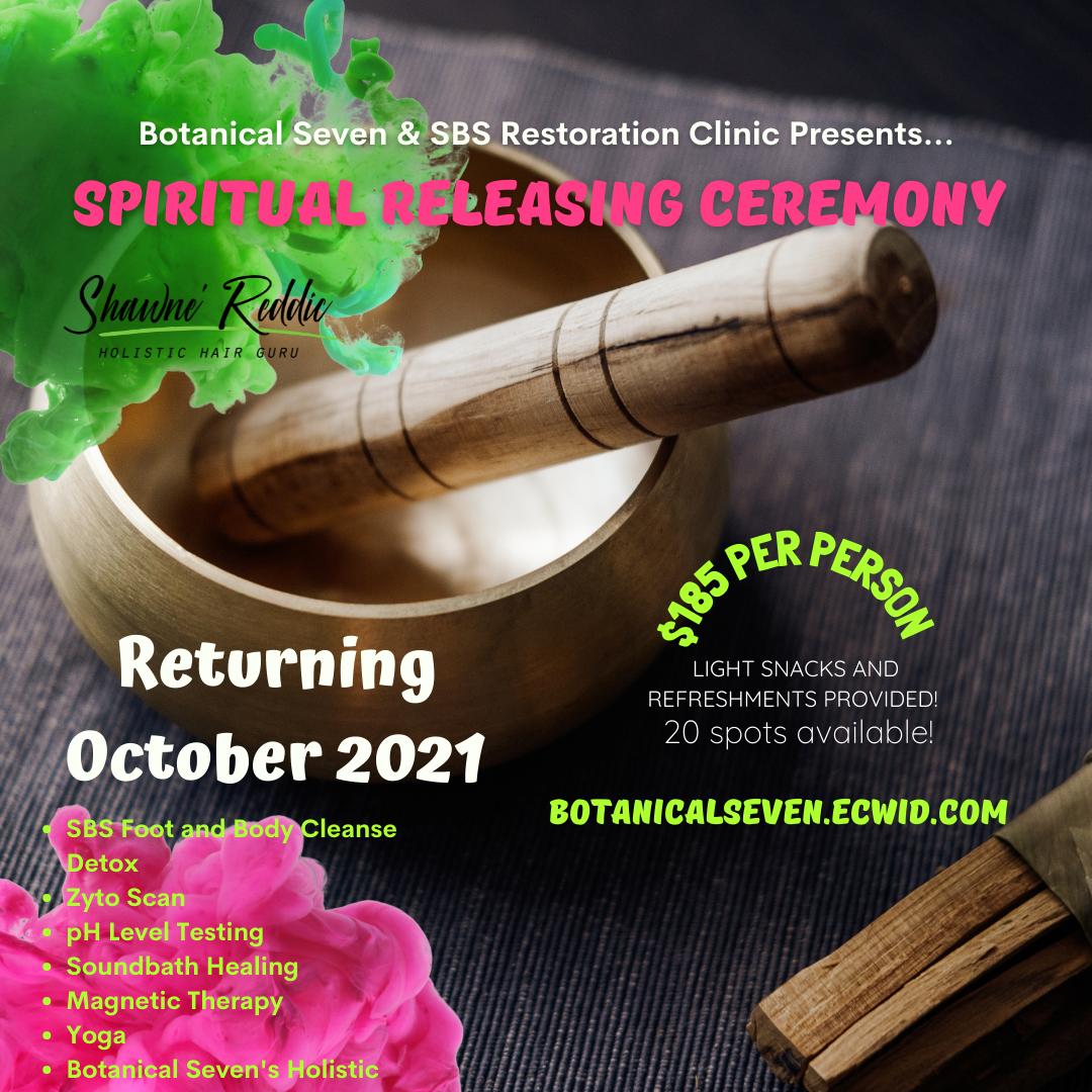 Spiritual Releasing Ceremony GROUP OF 4 TICKET