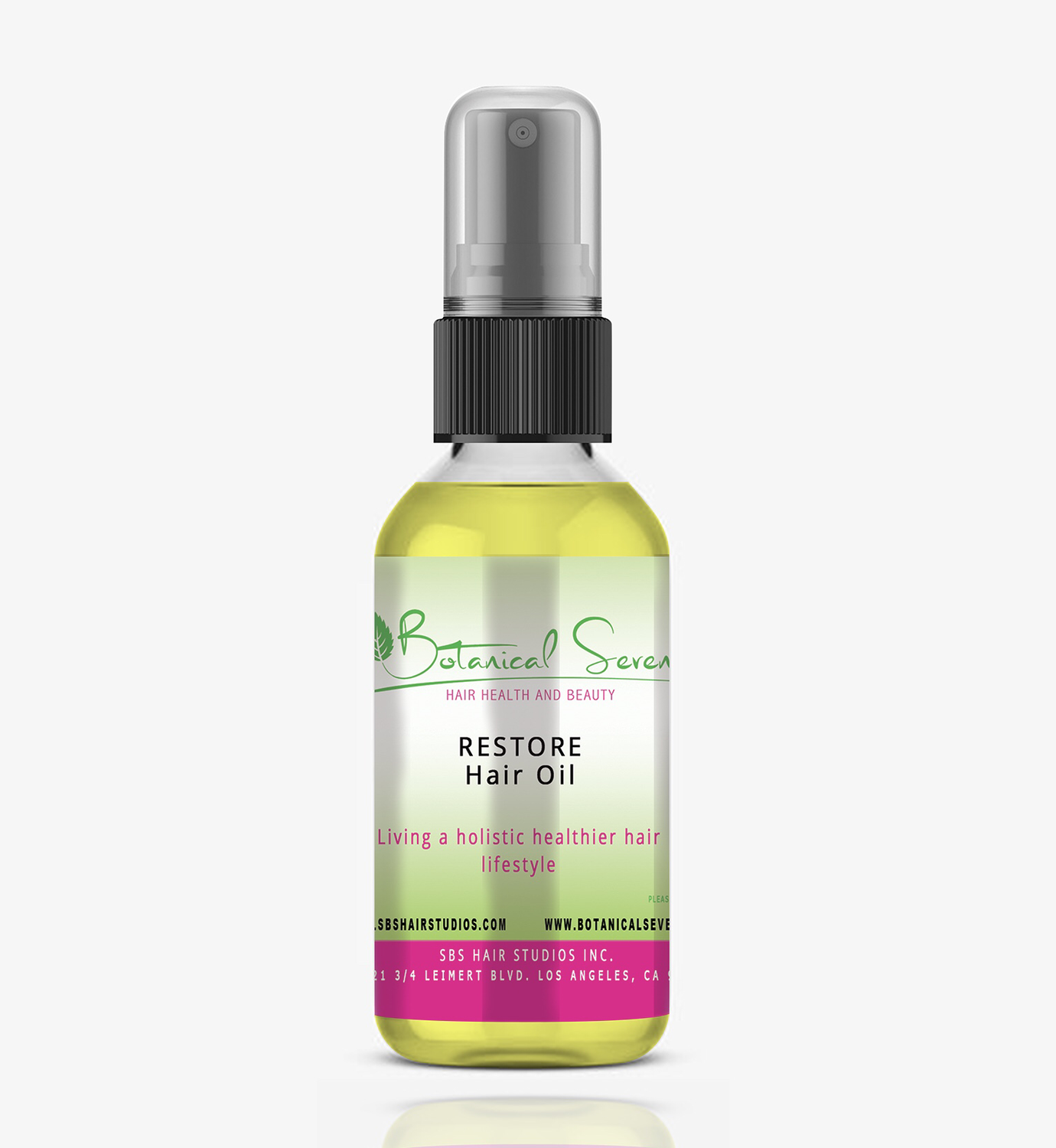 "Botanical Seven ""Restore Hair Essential Oil"""