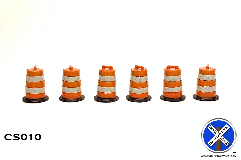 Traffic Construction Barrel (6 Pack) DUE 5/12/21