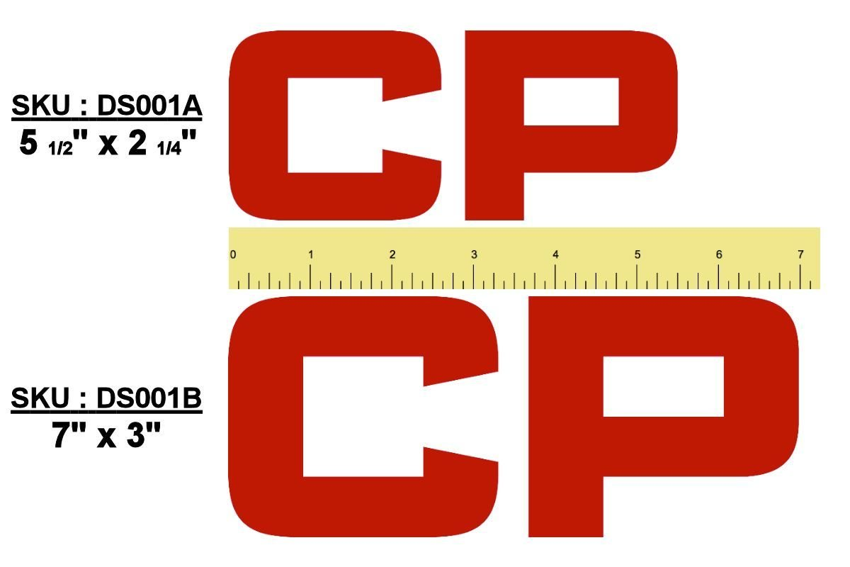 """Canadian Pacific """"CP"""" Logo Sticker/Decal"""