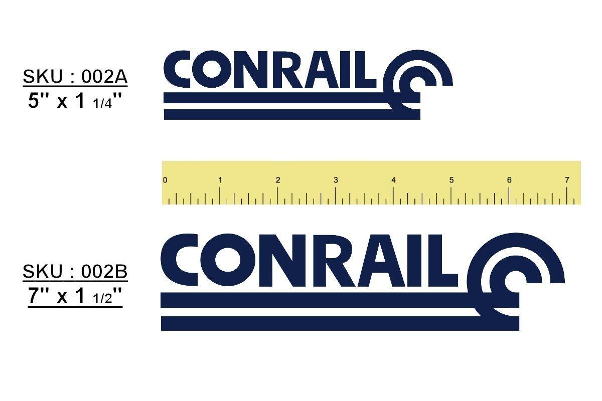 "Conrail ""CONRAIL"" Logo Sticker/Decal"