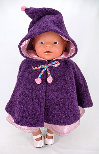 Gratis Baby Born Poppen Cape Patroon