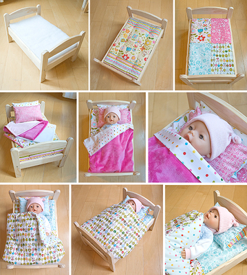 Free Happy Bedding Pattern