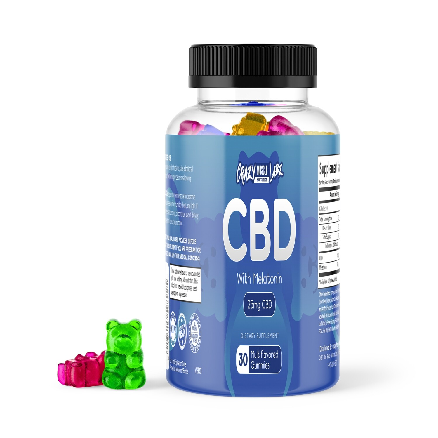 CBD with Melatonin Gummy Bears