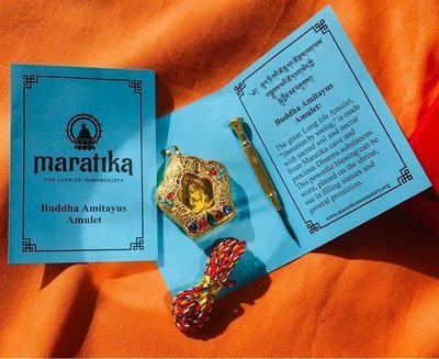 Blessed Amitayus Amulet - special edition