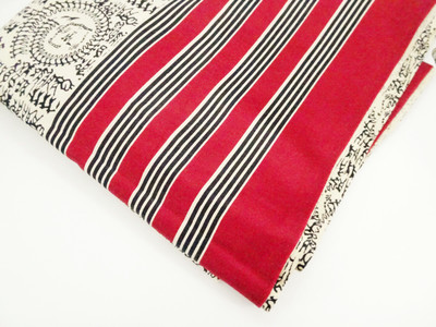 Warli Print Glace Cotton
