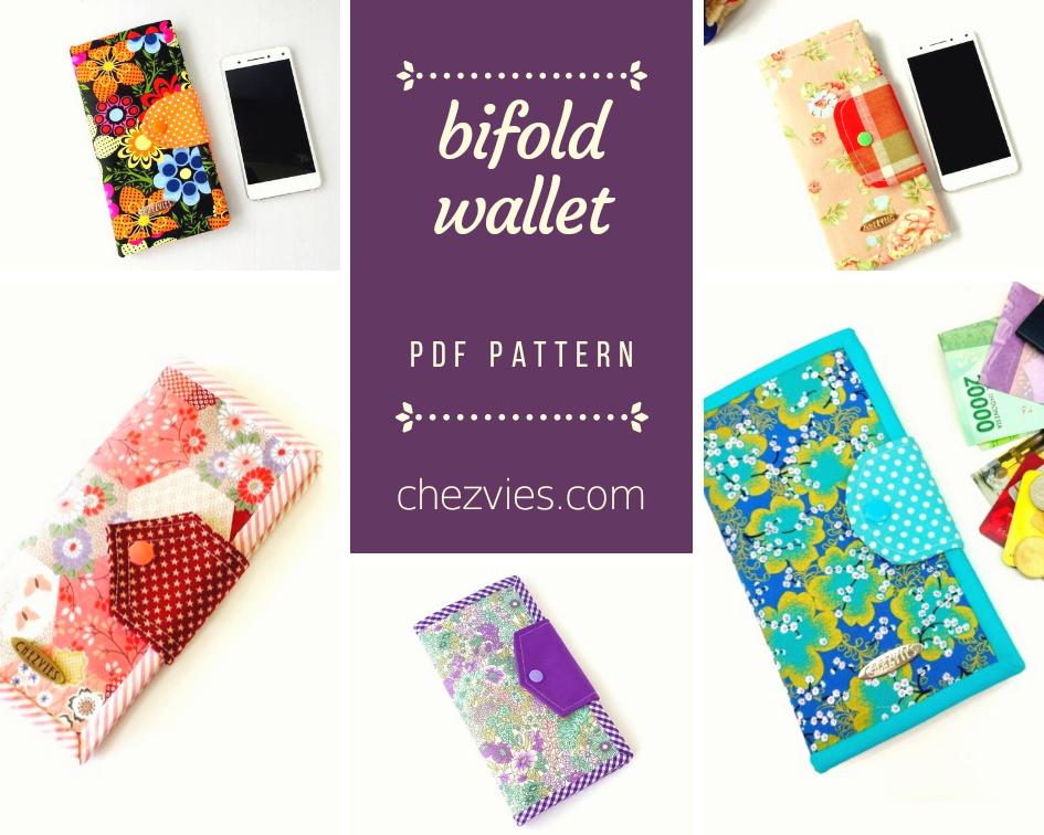 Pdf Pattern Bifold Wallet