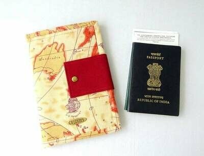 Passport Wallet with Card Holders