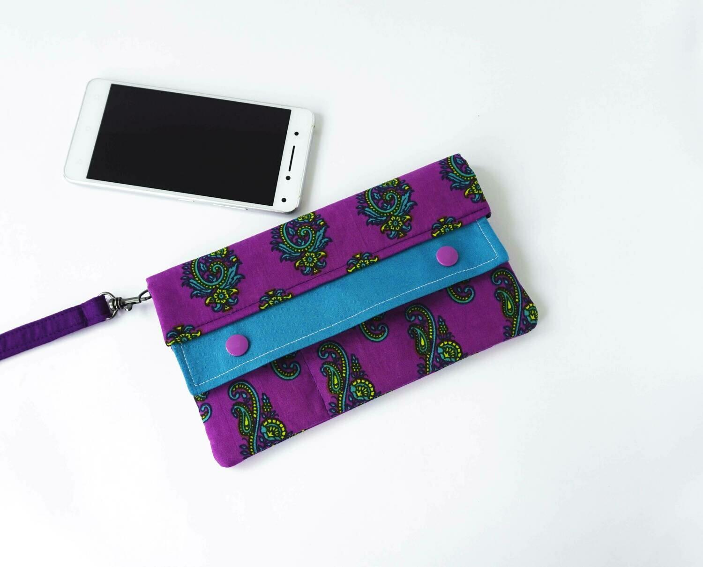 Purple Minimalist Wallet