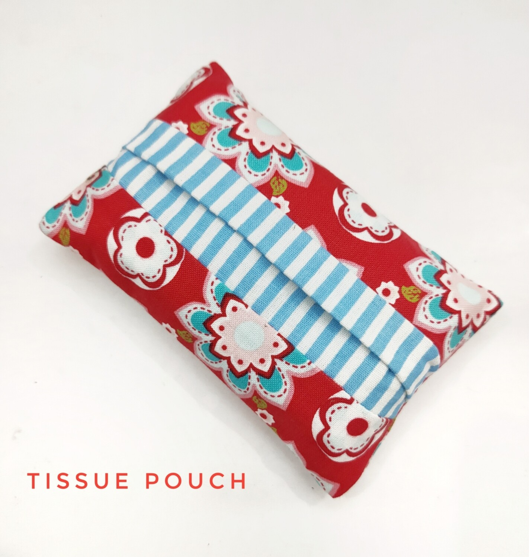 Pretty Red Pocket Tissue Holder